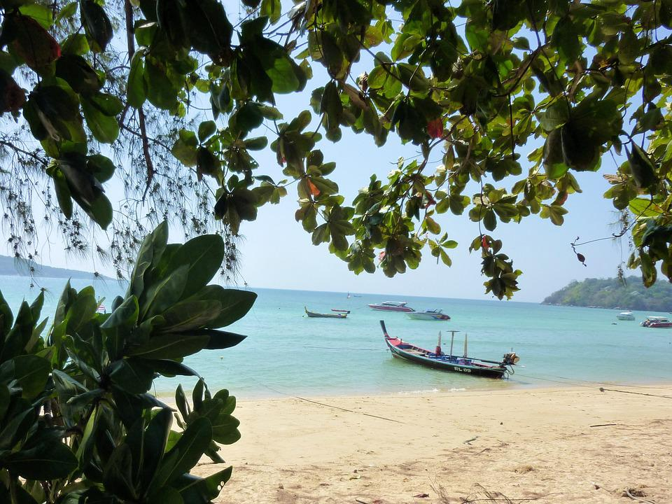 Rawai, Beach, Phuket, Sea, Thailand, Water, Sand, Trees