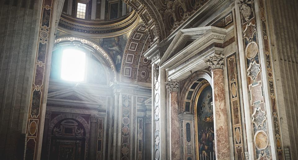 God, Religion, Ray Of Light, Architecture, Catholic