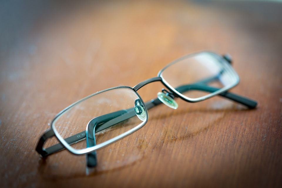 Glasses, Table, Read