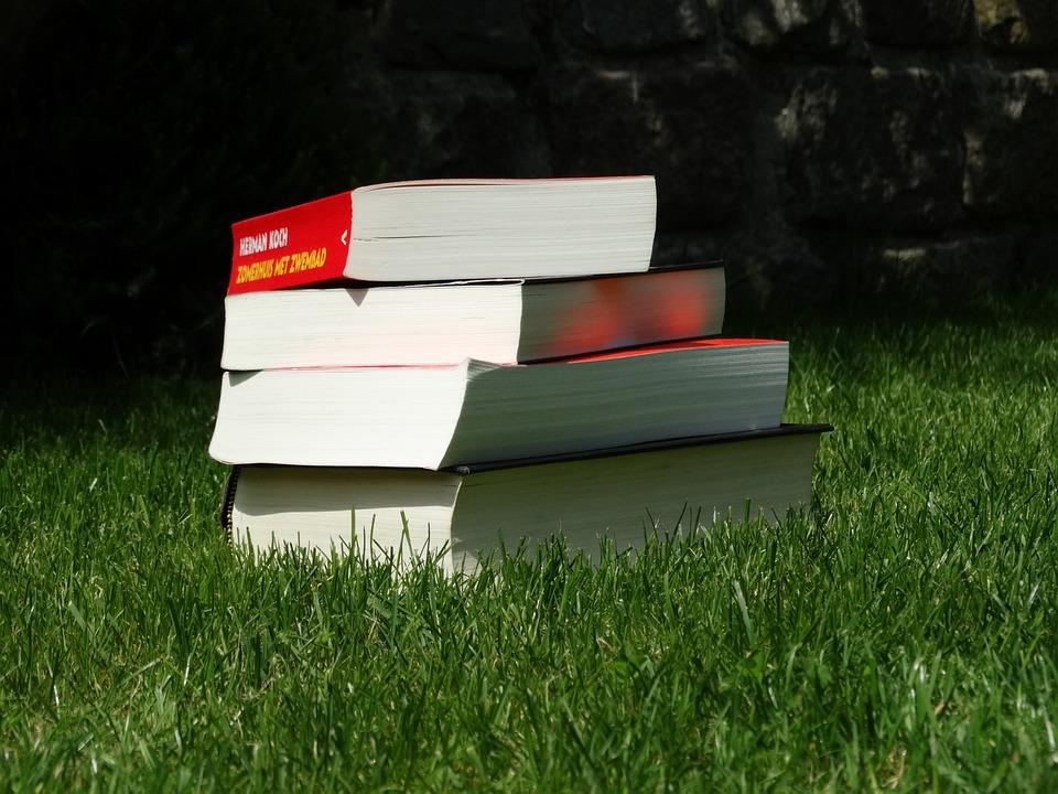 Book, Books, Summer, Read, Library, Paper, Garden