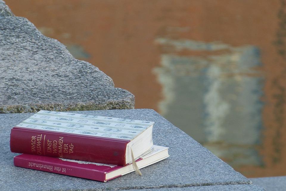 Book, Port, Enjoy, Read, Still Life, Sea, Husum