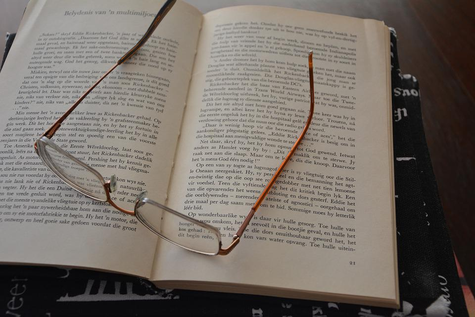 Reading, Glasses, Books, Leisure