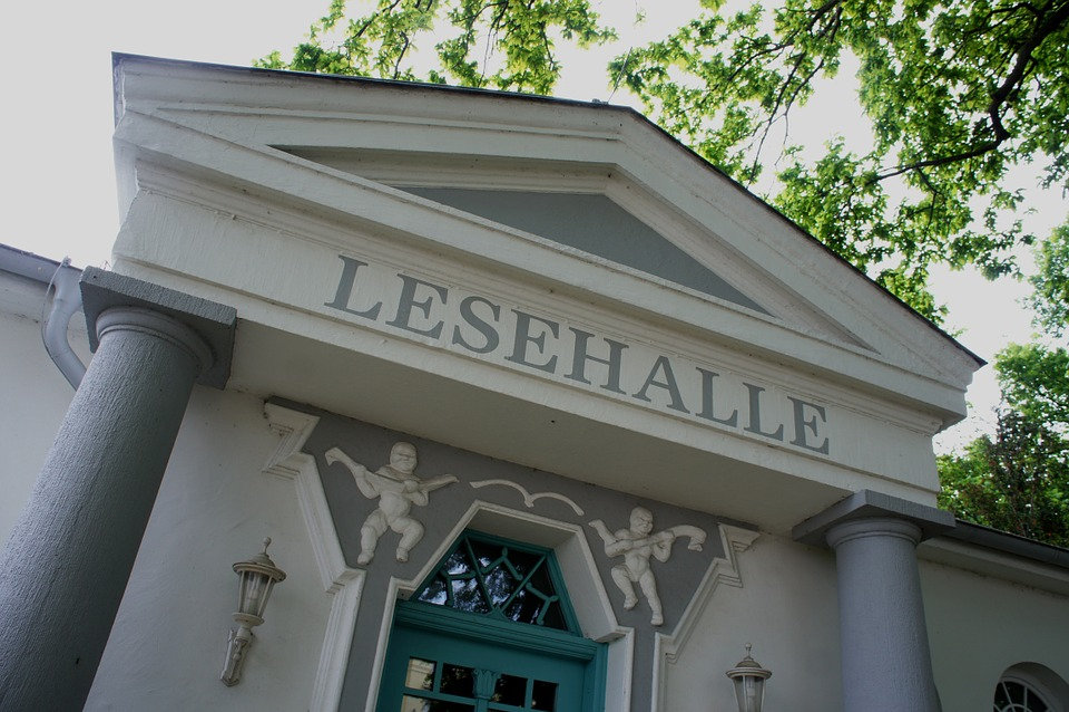 Reading Hall, Warnemünde, Library, Vacations, Building