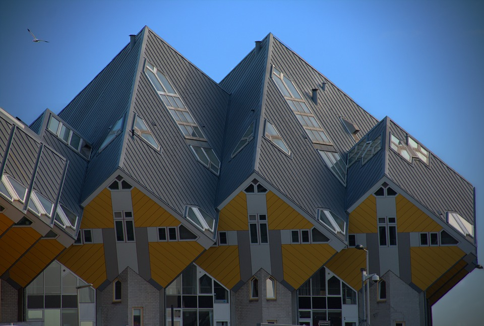 Rotterdam, Cube Houses, Real Estate, City, Netherlands