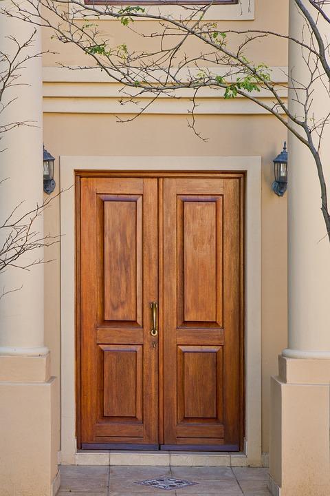 Door, Brown, Wood, Real-estate, Home, House
