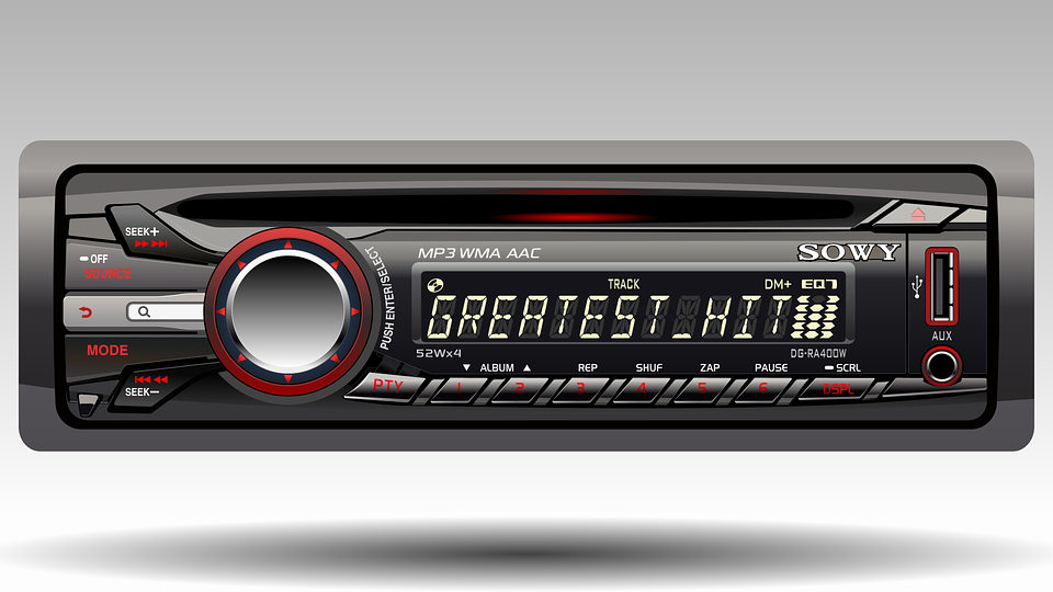 Radio For Car, Technology, Realistic, High-definition