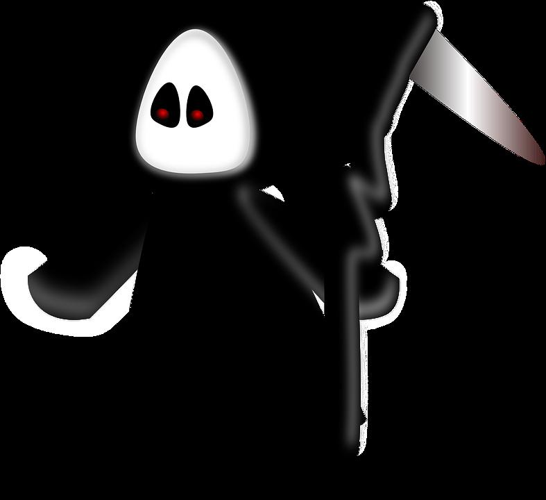 Reaper, Death, Dead, Parka, Funny, Scythe