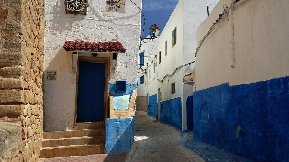 Morocco, Rebate, Kasbah Oudaïas