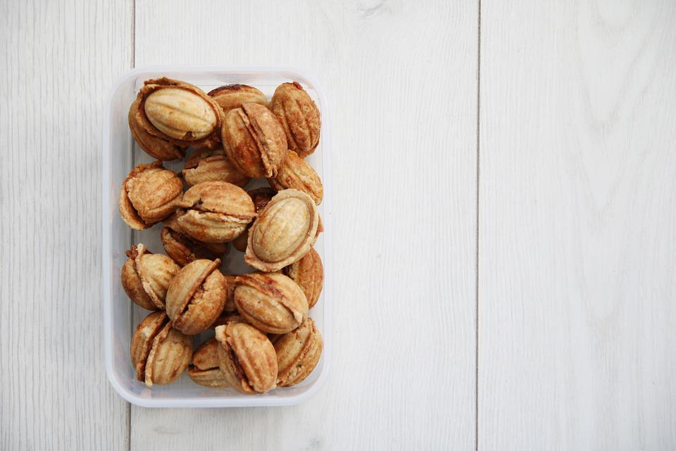 Nuts, Cookie, Recipe, Butter, Food, Delicious, Cookies