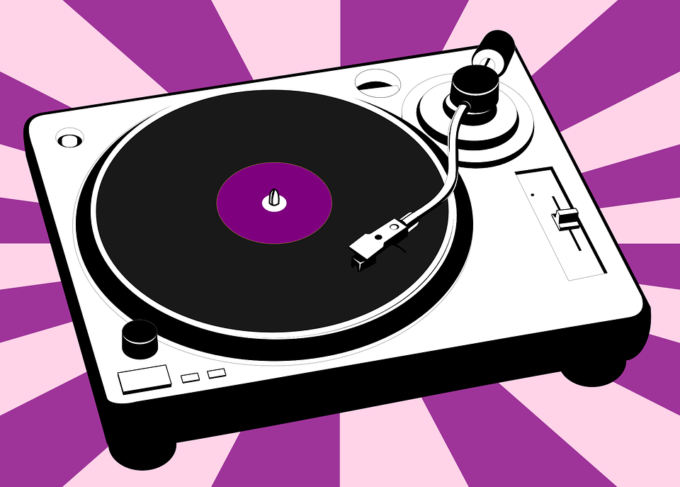 Turntable, Vinyl, Music, Record, Disco, Entertainment