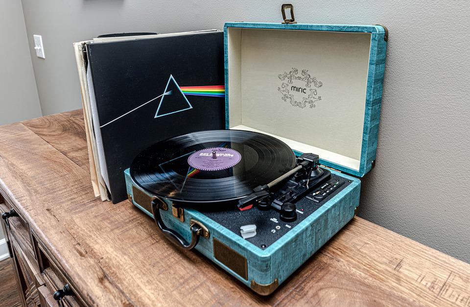 Record Player, Record, Vintage, Turntable, Music, Retro