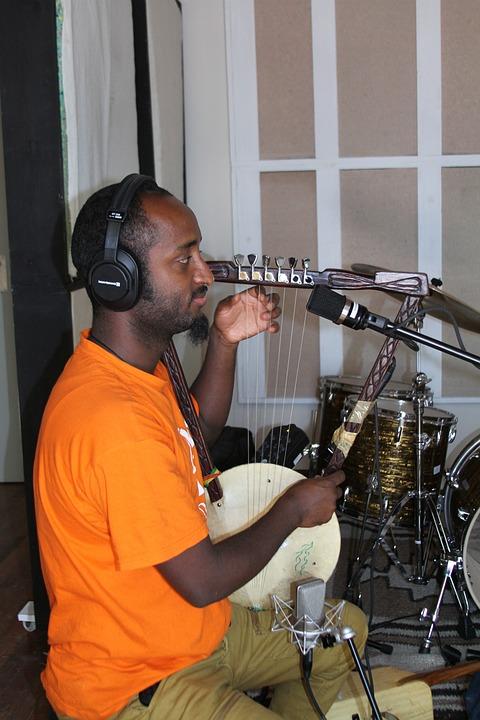 Studio, Recording Studio, Training, Microphone, Music