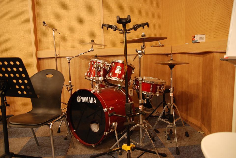 Drum, Recording Studio, Munrae Arts Factory