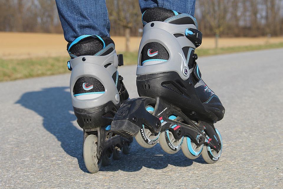 Inline Skates, Rollerskates, Recreational Sports, Sport