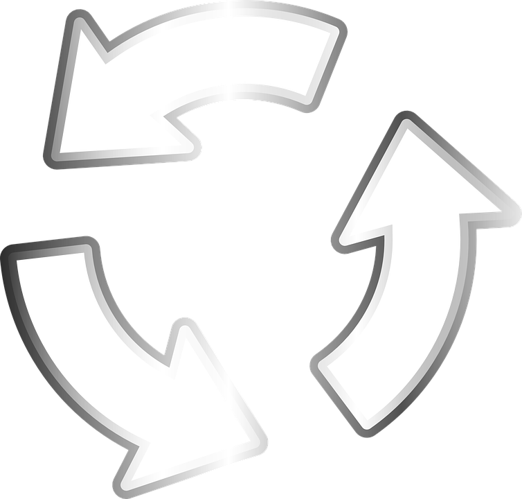 Arrows, Recycler, Recycling, Circle, Recyclable