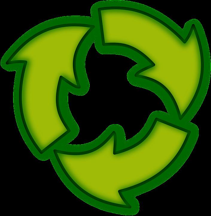 Recycle, Arrows, Green