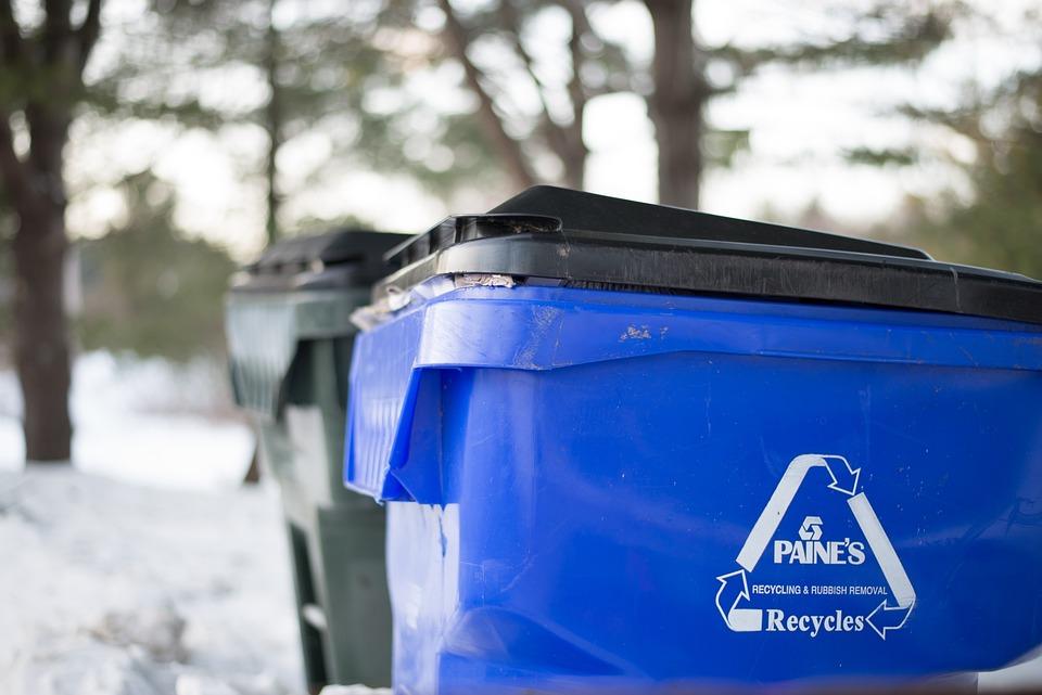 Garbage, Recycle, Bin