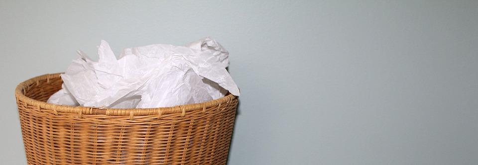 Rubbish, Basket, Waste, Paper, Trash, Garbage, Recycle