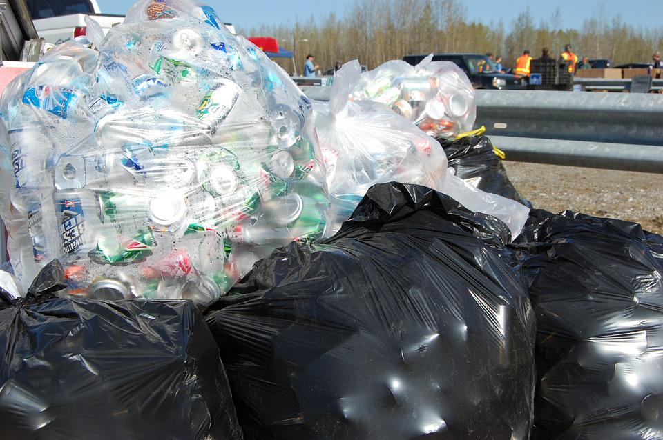 Recycle, Aluminum Cans, Trash Bags, Aluminum, Recycling