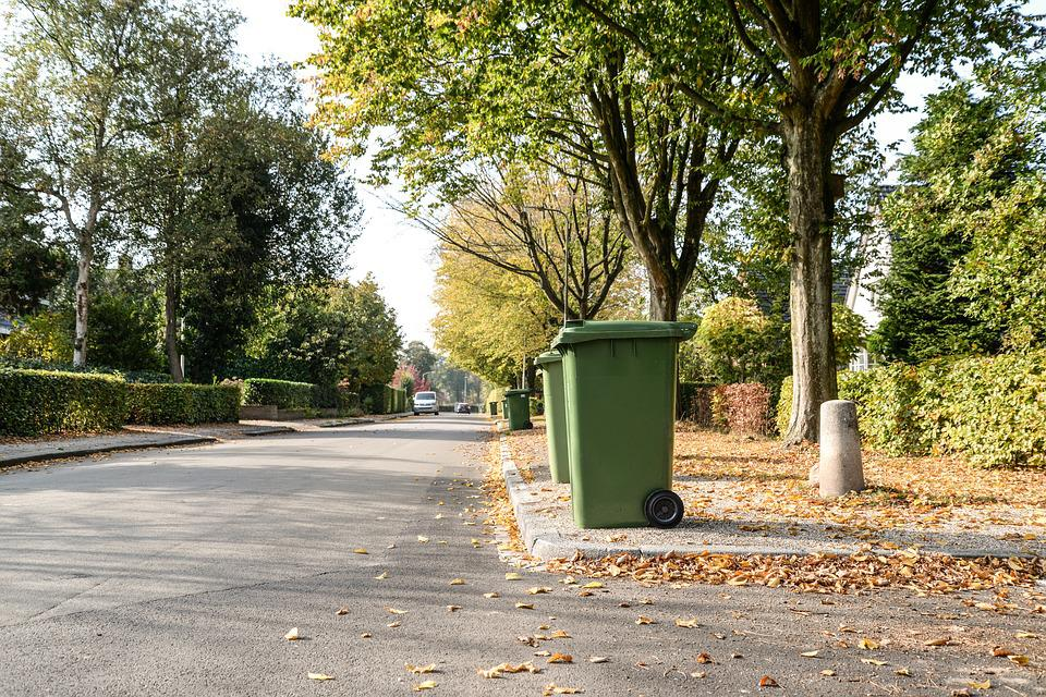 Trash, Container, Street, Garbage, Waste, Recycling