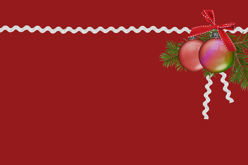 Background, Christmas, Red, Advent