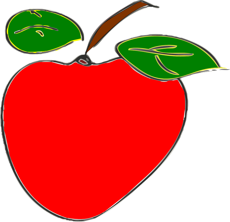 Apple, Red, Fruit