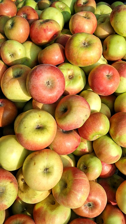 Apples, Red Apples, Fruits, Healthy