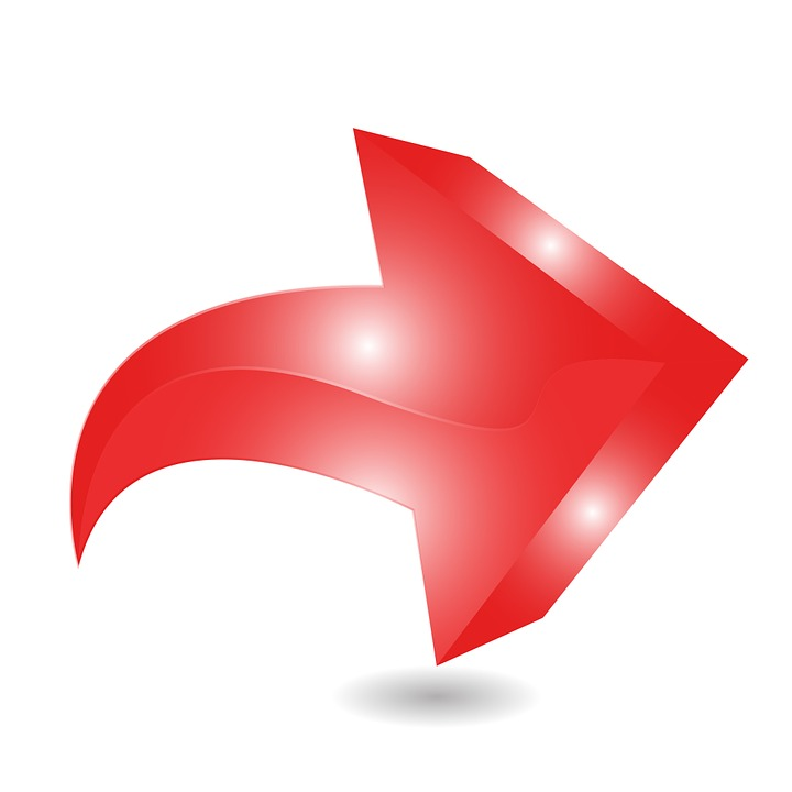 Arrow, Red, Right, Point, Direction
