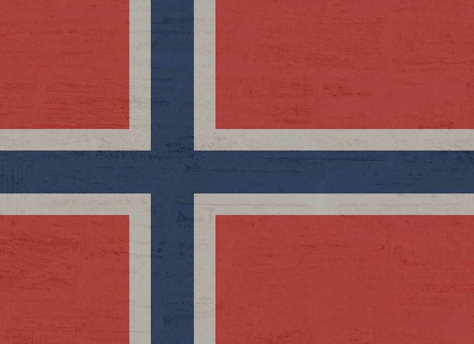 Norway, Flag, Norwegian, Country Flag, Red, Blue