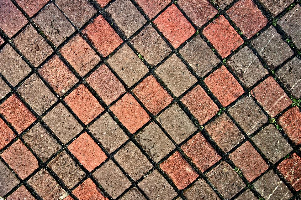 Pavement, Bricks, Paving, Urban, Red Brick