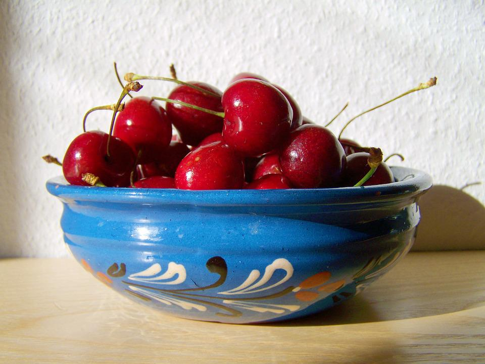 Red Cherry, Fruit, Mature, Sweet
