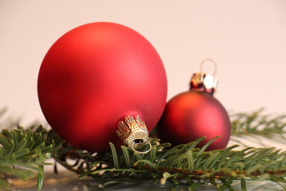 Christbaumkugeln Ornament.Free Photo Red Christbaumkugeln Fir Green Christmas Decoration Max