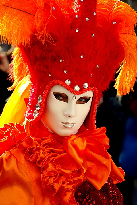Carnival, Schwäbisch Hall, Costume, Red, Color