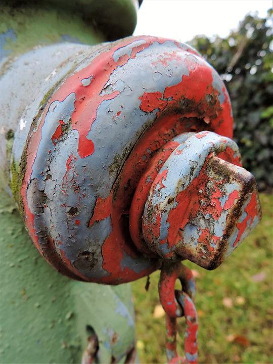 Hydrant, Stainless, Color, Paint, Red