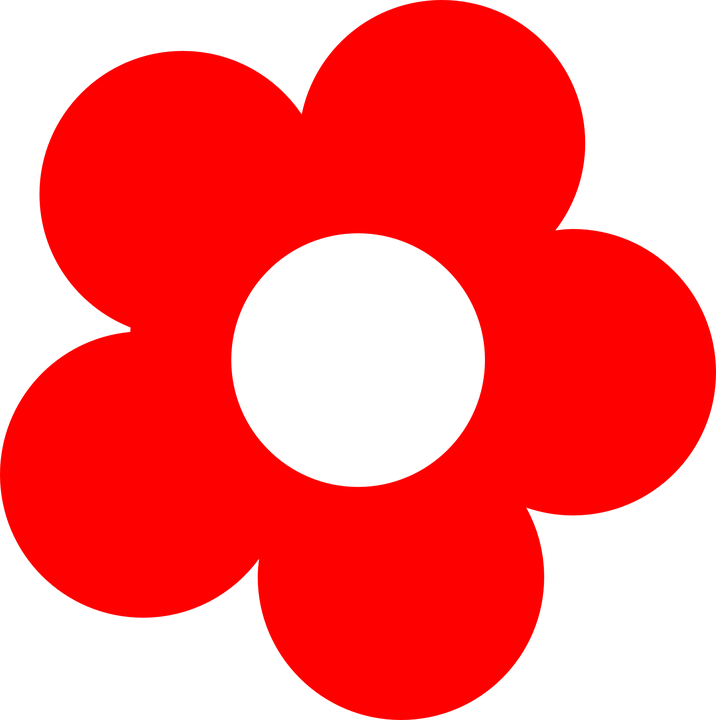 Flower, Red, Bloom, Blossom, Simple, Petals, Red Flower