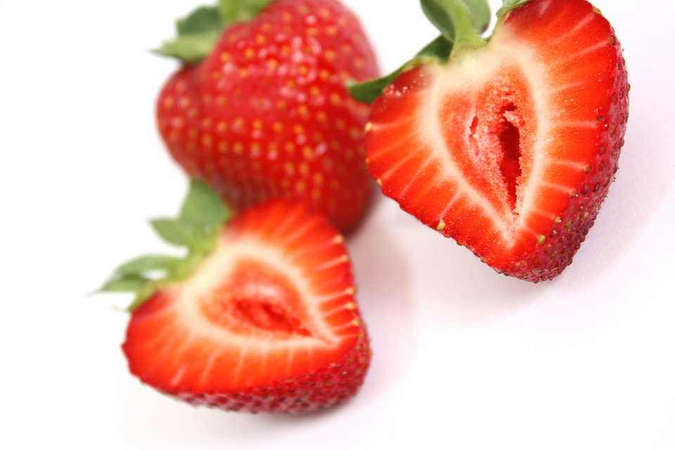 Strawberry, Red, Fruit, Food, Healthy, Summer, Diet