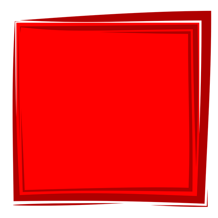 Red Frame, Frame, Background, Album, Border, Design