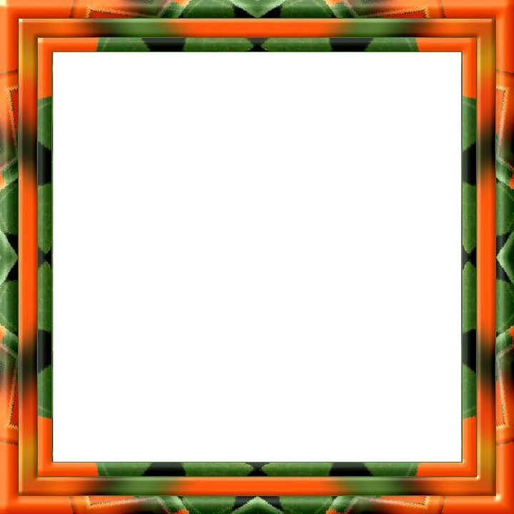 Frame, Picture Frame, Outline, Red, Green, Isolated