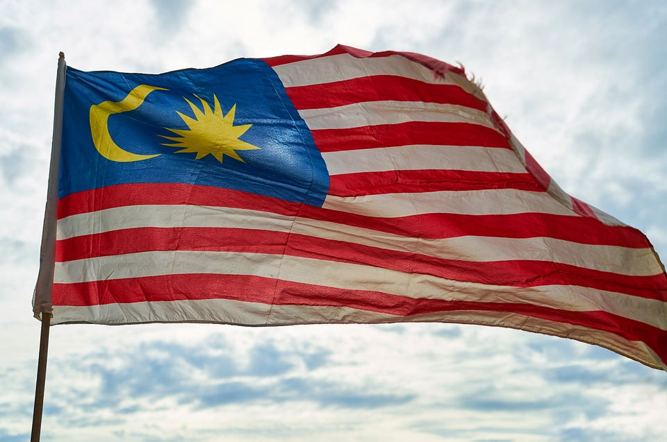 Flag, Malaysia, Freedom, Independence, Blue, Red