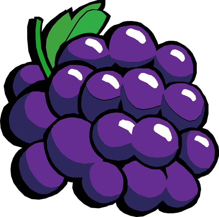 Grapes, Red, Fruit, Food, Fresh, Juicy