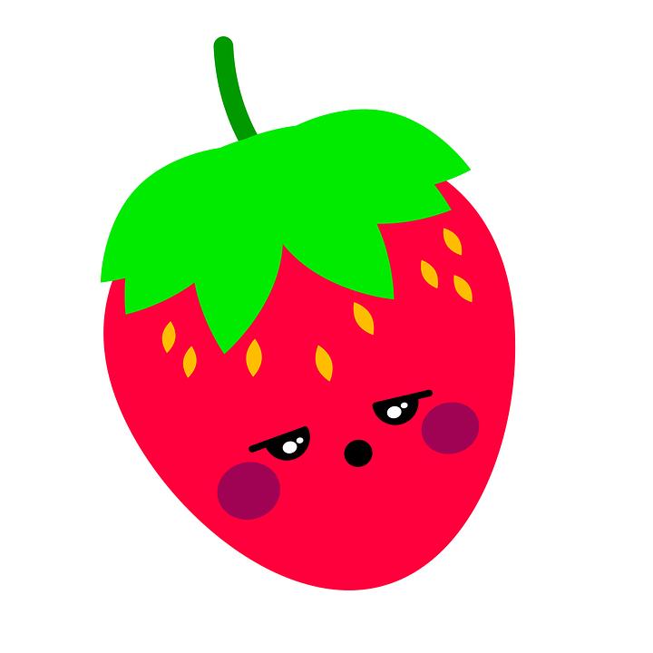 Strawberry, Illustration, Fruit, Red, Fresón, Red Fruit