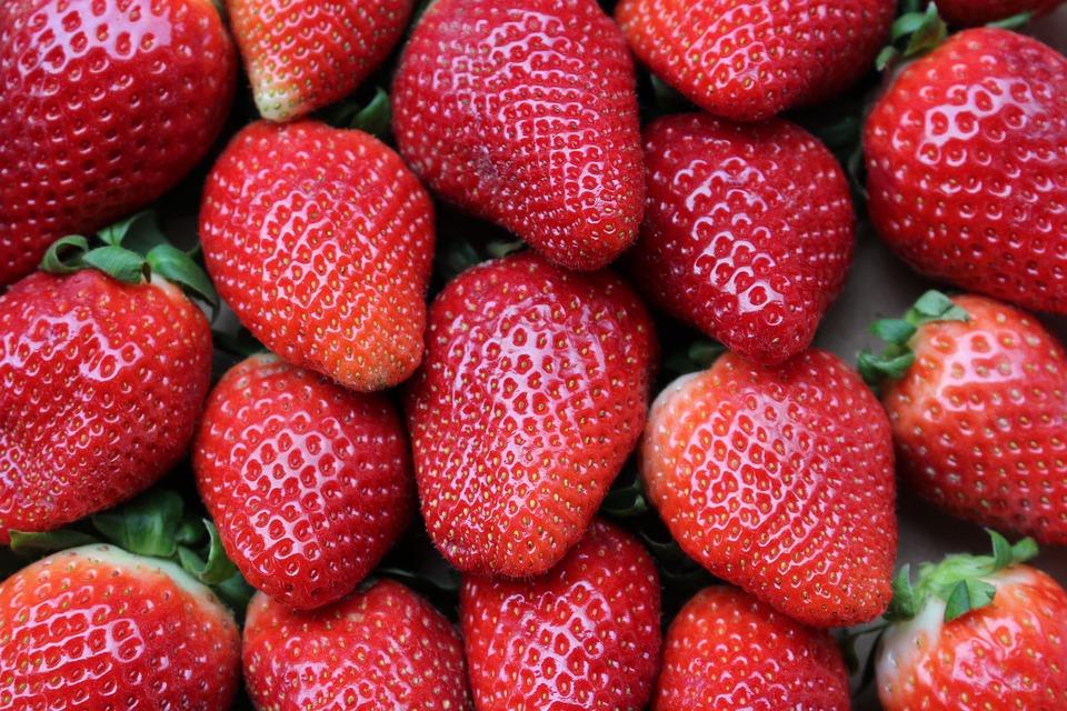 Strawberries, Fruit, Red, Healthy, Fruits, Sweet