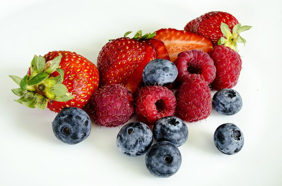 Berries, Berry, Strawberries, Fruit, Red, Delicious