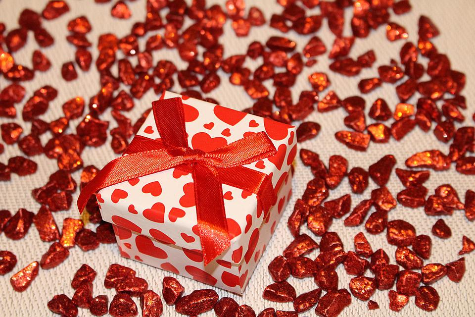 Gift, Loop, Packaging, Decoration, Red