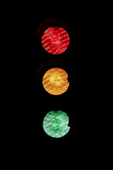 Traffic Lights, Road Sign, Red, Yellow, Green, Wait, Go