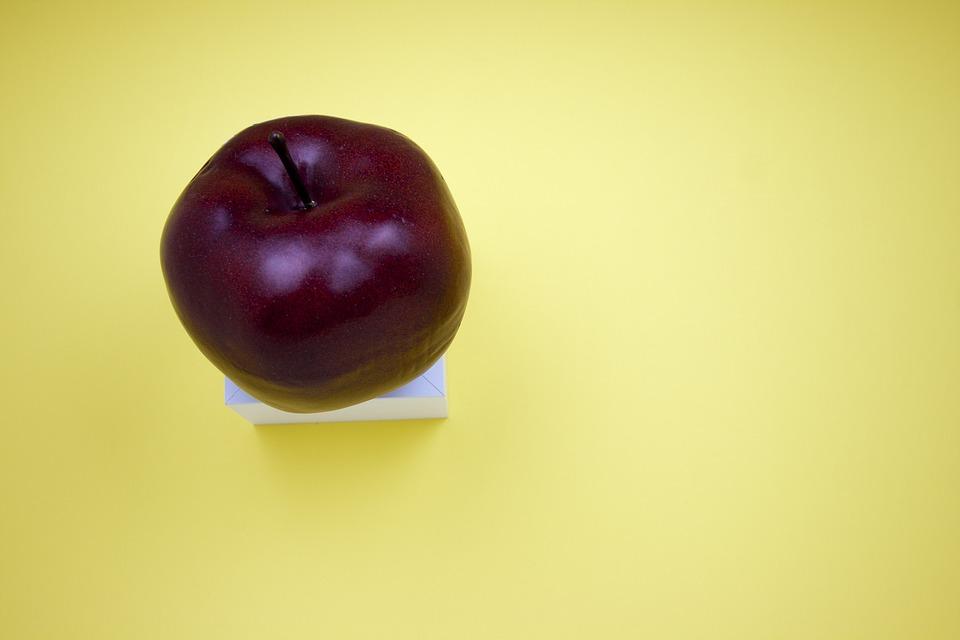 Apple, Fruit, Red, Food, Healthy, Fresh, Organic, Green