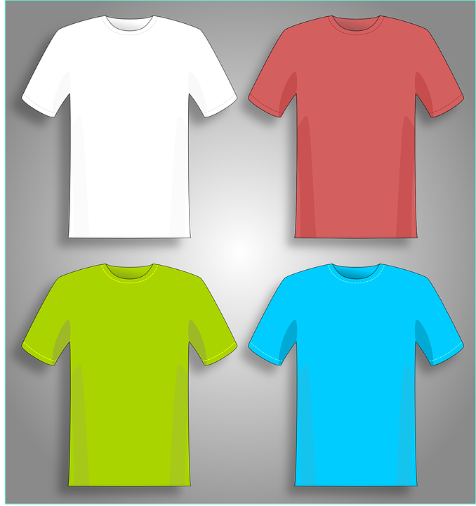 T-shirt, T-shirts, Shirt, Shirts, Green, Red, White