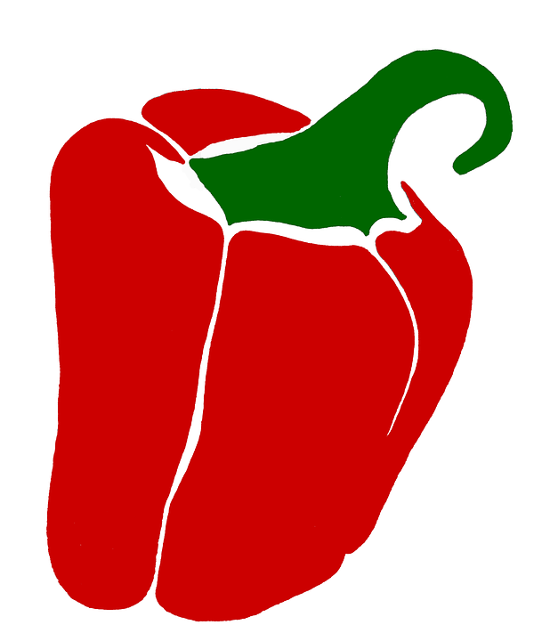 Paprika, Vegetables, Red, Healthy, Food