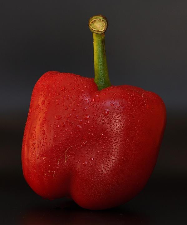 Paprika, Red, Red Pepper, Vegetables, Food, Healthy
