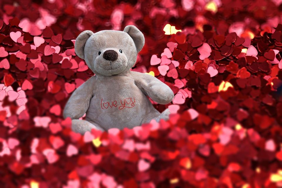 Red Hearts, Valentine, Love, Mensaje, Feeling